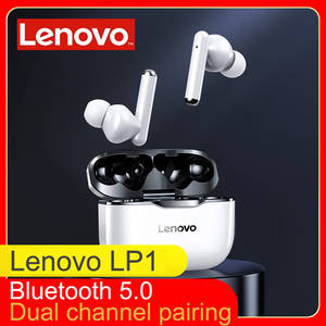 Lenovo Earphone Bluetooth Bass 300mah Touch-Control Noise-Reduction NEW Tws Wireless