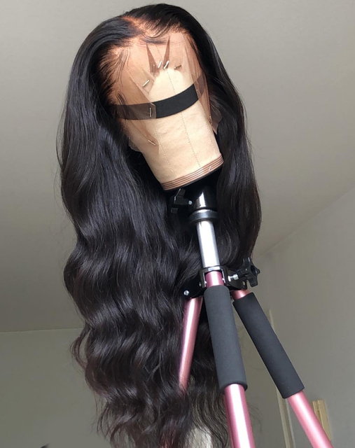 Pre-plucked Hair Body Wave 360 Lace Front Human Hair Wigs 2
