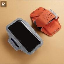 Youpin Guildford 4.7 6 inç spor su geçirmez spor kol bandı dokunmatik ekran taşınabilir nefes açık koşu koşu spor kol bandı