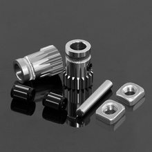 Drivegear kit dual drive gear extruder kit Gekloond Btech upgrade voor extruder voor Prusa i3 3d printer gear Mini Bowden extruder(China)