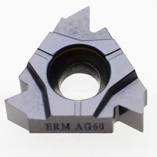 MZG 10pcs 16ER MAG 60 ZM 860 ISO  CNC Threading Tools Holder External Stainless Steel Turning  Carbide  Inserts