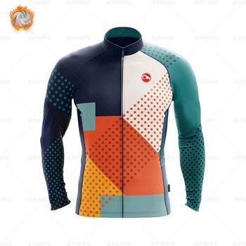 2020 velo de inverno pro conjunto camisa ciclismo mountian bicicleta roupas wear ropa ciclismo corrida roupas ciclismo conjunto 8
