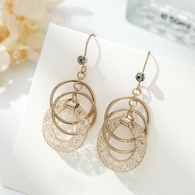 TS-ED006 High Quality 925 Sterling Silver Fine Jewelry Spain Version Bear Jewelry Women's Earrings Wholesale Price Free Shipping