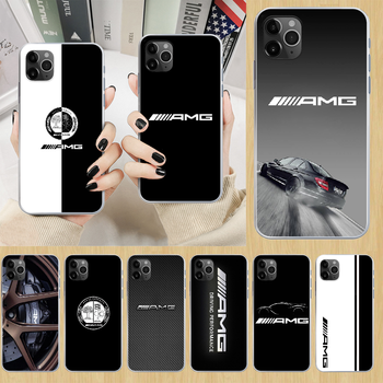Mercedes AMG Luxury Car Phone Case cover For iphone 4 4S 5 5C 5S 6 6S PLUS 7 8 X XR XS 11 PRO SE 2020 MAX transparent shell image