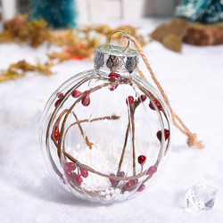 Christmas 2019 Home Decorations Cherry Decoration Ball DIY Christmas Tree Hangings Deco Noel Bois Kerst Natale Dropshipping # 4