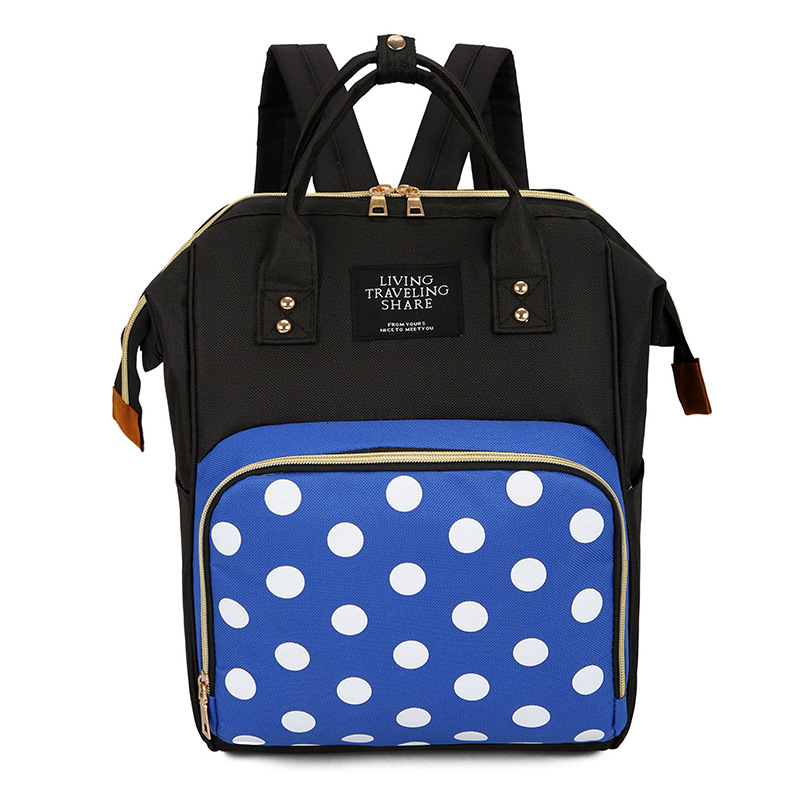 Diaper Bag Backpack Fashion Korean-style Freaky MOTHER'S Bag Multi-functional Large-Volume Mommy Bag Nursing Leisure Bag