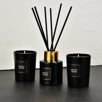 50ml Reed Diffuser + 2pcs Scented Candle Gift Box Set  1