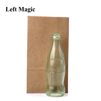 Vanishing Cole Bottle Empty Magic Tricks Coke Stage Close Up Illusions Accessories Mentalism Fun Magic Props Classic Toys Gimmic