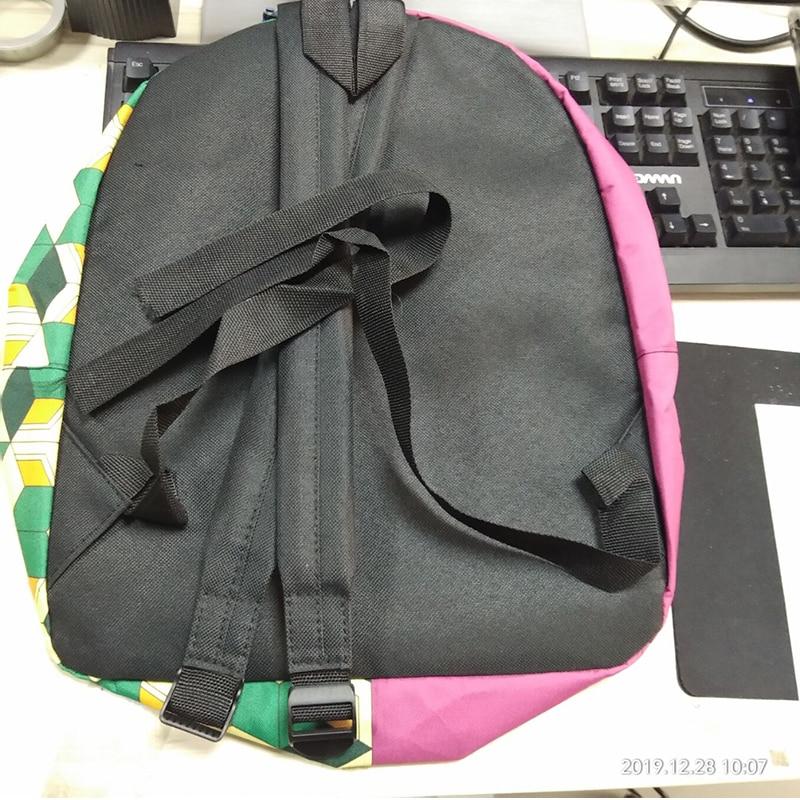 Hc3e0985660a84c7593f09641ef00269ec - Demon Slayer: Kimetsu no Yaiba Backpack Canvas Bag Kamado Tanjirou School Bags Girl Mochila Feminina Nezuko Notebook Bag Cosplay