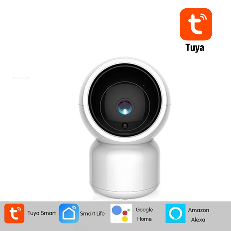 INQMEGA 1080P Tuya Smart WiFi IP Camera Home Security Camera Auto Tracking Baby Alexa Google Home|Surveillance Cameras| - AliExpress