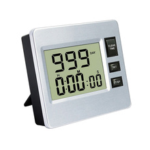 DIGITAL LCD CLOCK COUNT DOWN TIMER COOK LOUD ALARM KITCHEN BAKERY SPORT SPA COUNTDOWN