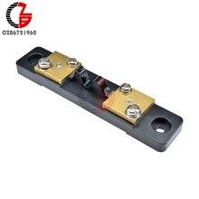 Compteur de courant shnt externe 10A 20A 30A 50A 100A 200A 300A 75mV, voltmètre numérique, ampèremètre