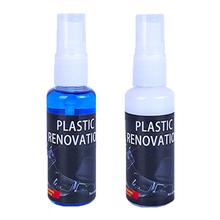 30ML wewnętrzne plastikowe części z tworzyw sztucznych wosk do bieżnikowania Agent odnowiony plastik przywróć środek konserwacyjny wnętrze samochodu tanie tanio CN (pochodzenie) Dropshipping Wholesale Retails
