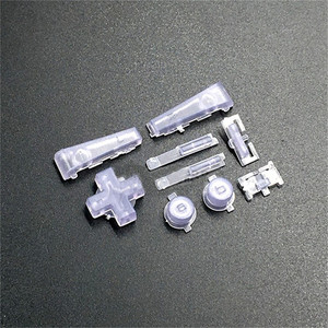 Image 5 - フルボタンセット L R ABDE パッドキーパッド nintend GBM コンソールシェルボタンキー交換部品