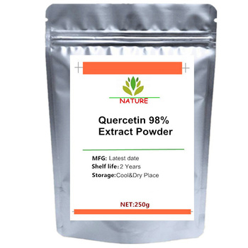Pure Quercetin 98% Extract Powder for Normal Cardiovascular & Respiratory Health