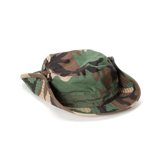 Tactical Boonie Hat Army Fisherman Cap Military Training Sun Protector  Hat Outdoor Sports Camouflage Fishing Hiking Hunting Cap 2