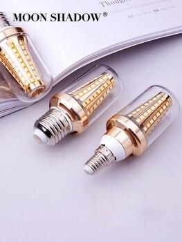 Bombilla Led para lámpara E27 220V luz Led tipo vela iluminación interior E14 Led lámpara de maíz 5W 7W 9W ampolla G4/G9 araña para sombra de Luna casera