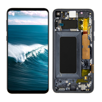 AAA LCD For Samsung Galaxy S10e G970F/DS G970W G970U SM G9700 LCD Display Touch Screen Digitizer Assembly + Frame