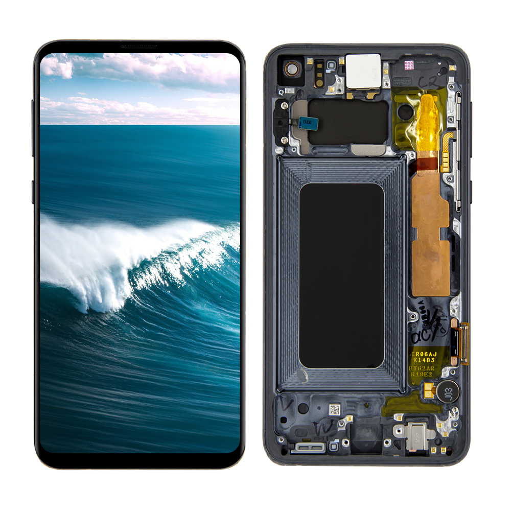 AAA LCD For Samsung Galaxy S10e G970F/DS G970W G970U <font><b>SM</b></font>-<font><b>G9700</b></font> LCD Display Touch Screen Digitizer Assembly + Frame image