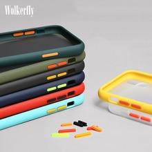 Luxury Hard PC Case For Xiaomi Mi A3 8 CC9 9 Lite 9T Pocophone F1 On Redmi Note 7 6 8 7A 8A Redmi K20 Pro Matte Transparent Case