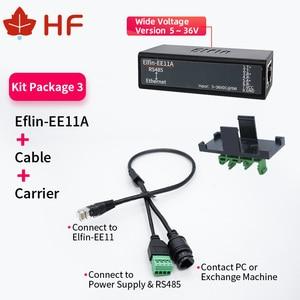 Image 2 - 6 مجموعات من الخادم التسلسلي EE11A RS485 الصغير إلى محول Ethernet ModbusTCP من المسلسل إلى Ethernet ، محول RJ45 مع خادم الويب التسلسلي المدمج