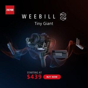 Image 3 - Zhiyun Weebill S, Sony A7M3 Nikon D850 Z7, 300% 향상된 모터와 같은 미러리스 및 DSLR 카메라 용 랩 3 축 짐벌 안정기