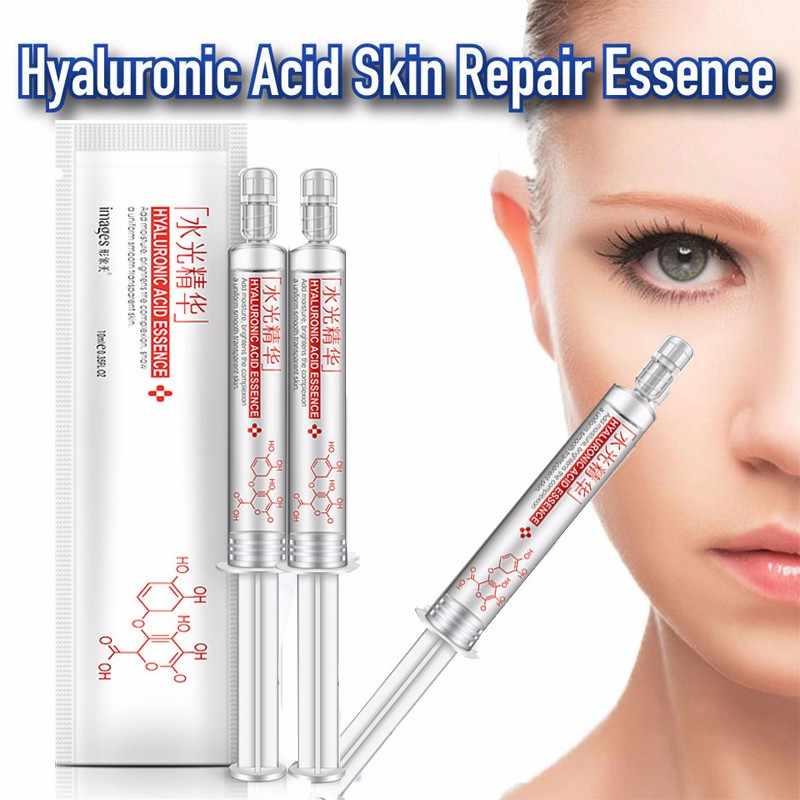 حمض الهيالورونيك الجلد إصلاح جوهر 10 مللي المضادة للتجاعيد ترطيب مكافحة الشيخوخة الكولاجين جوهر الوجه مصل العناية بالبشرة السائل TSLM2