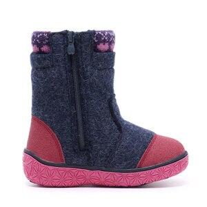 Image 3 - MMnun chaussures pour enfants pour filles bottes en feutre de laine chaussures dhiver pour enfants avec hibou bottes chaudes pour filles taille 23 32 ML9439