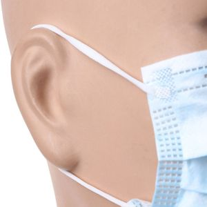 Image 4 - 50pcs Non Woven Disposable Face Mask 3 Layer Earloop Anti Dust proof Respirator Mouth Safety Breathable Protection Masks