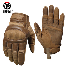 Soldier Assault Military Airsoft Full Finger Gloves Touch Screen Paintball Shooting Rubber Protect Army Force Gear Armor Gloves