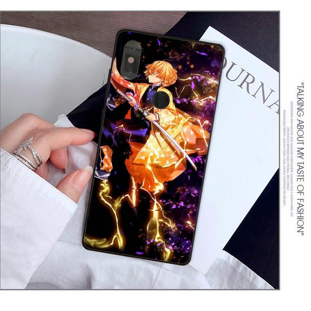Demon Slayer Kimetsu no Yaiba Cover Case for Xiaomi Mi Phones