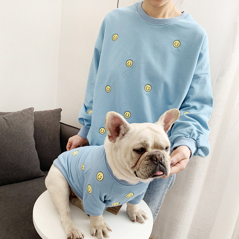 Parent-Child Dog Clothes French Bulldog Costume For Dogs Coat Jacket Pet Clothing Pug Clothes For Dogs Costume Outfit Ropa Perro