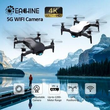 Eachine EX4 5G WIFI FPV GPS z 4K kamera HD 3 osi stabilny Gimbal punkt interesującego lotu zdalnie sterowany dron Quadcopter RTF