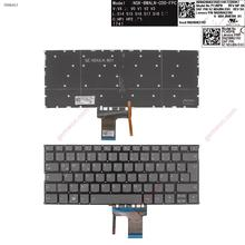New German QWERTZ Replacement Keyboard for Lenovo IdeaPad 320S-13IKB 720S-13IKB 720S-14IKB GRAY Backlit Without FRAME WIN8