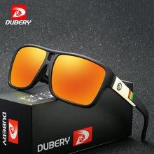 Мужские поляризационные солнцезащитные очки dubery модные высококачественные