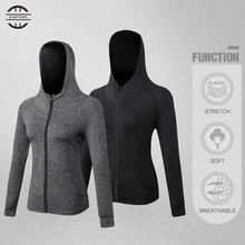 Women New Gym Jacket Elasticity Shirts Hoodies for Tights Soccer Jerseys Fitness Running Womens Sweatshirt