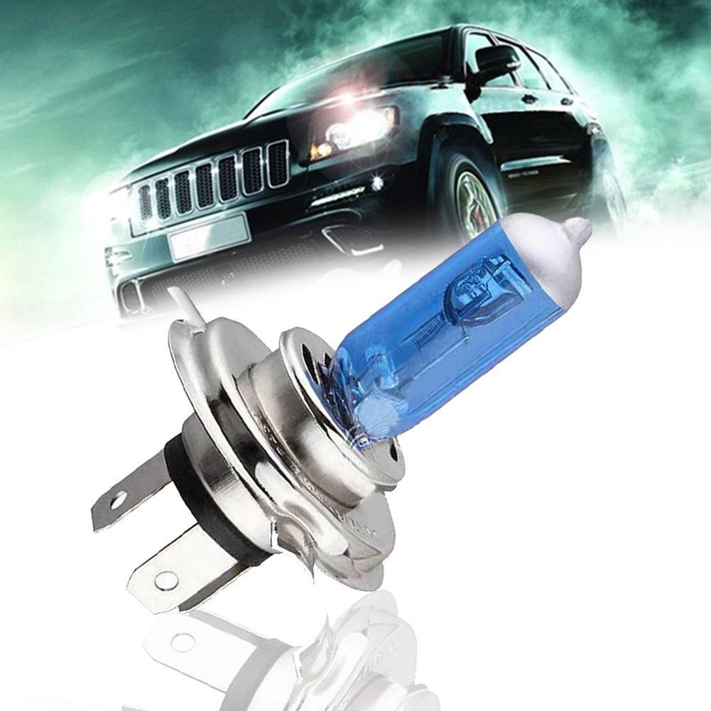 1 шт. H4 55 Вт 60 Вт галогенный 6000 К светильник дальнего и ближнего света, головной светильник, белая лампа, ксеноновая Автомобильная Лампа 6000 К 12...