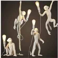Итальянская лампа в форме обезьяны крутая для магазина одежды