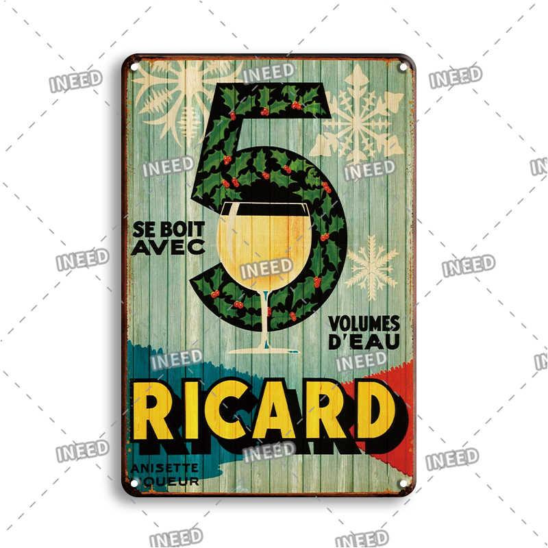 Corona Bacardi Vintage piwo metalowa tablica znak Bar dekoracje ścienne do domu znaki Retro metalowy plakat znak blaszany człowiek jaskinia Pub kuchenne talerze