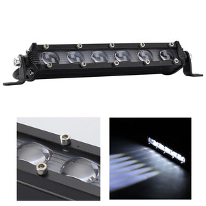 8 Inch 60W LED Bar Work Light
