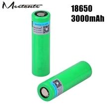 цены Meetcute 3000mAh rechargeable 3.7V VTC6 Li-ion battery 18650 US18650VTC6 30A For Electronic cigarette toys tools flashlight