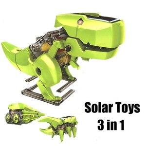 Solar energy toy DIY assembly