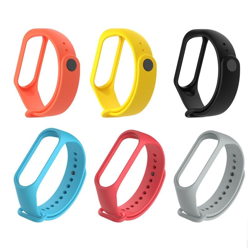 For M3 M4 Band Smart Bracelet Pedometers Replacement Wristband Watch Strap Watchband For Xiaomi Mi 3 4 Mi3 Smart Bracelet
