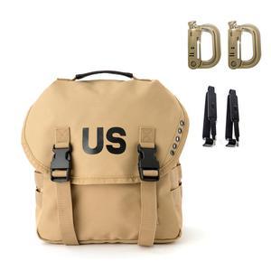 Bolso militar multiusos Alice Butt, bolso de cabestrillo del ejército, bolso de mensajero Molle y cinturón caqui