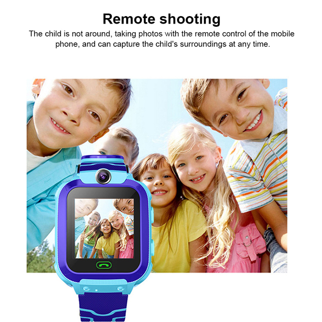 2019 Newest Waterproof Kid Smart Watches Baby Watch for Children SOS Call Location Finder Anti Lost Monitor LBS PK Q12