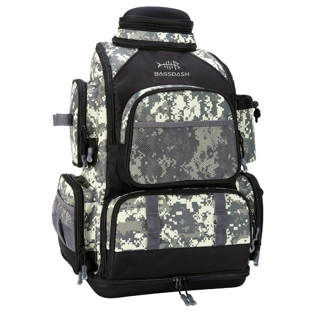 1 Camo fishing backpack