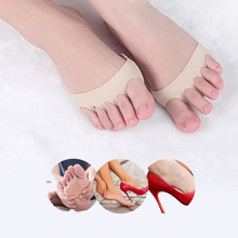 Five Toes Forefoot Pads High Heels Shoes Insoles Calluses Foot Protector Pain Relief Anti Shock Insoles Half Yard Pad Inserts