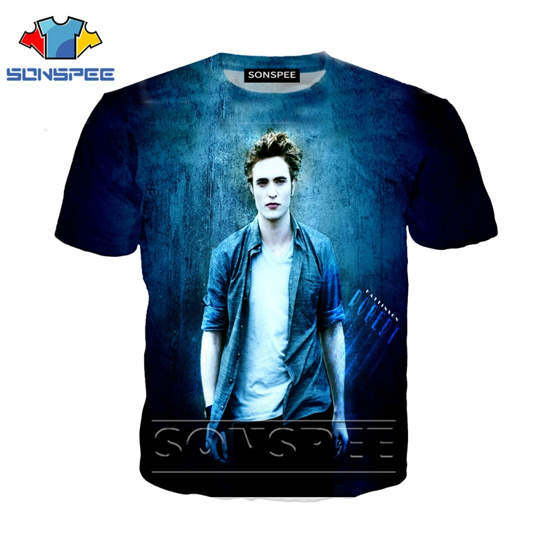 Anime 3d Print Street Clothing T Shirt Men Women Movie Fashion T-shirt Twilight Kids Harajuku Tees Funny Shirts Homme Tshirt A74