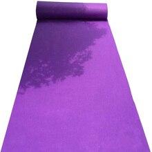 Аксессуары для свадебных церемоний фиолетовые Ковровые Коврики для торжественных церемоний и мероприятий в помещении