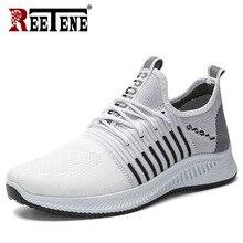 REETENE Fashion Mesh Breathable Shoes New Fashion Couple
